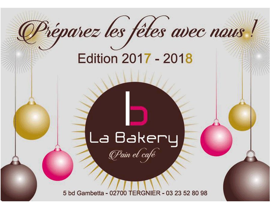 Dépliant La Bakery