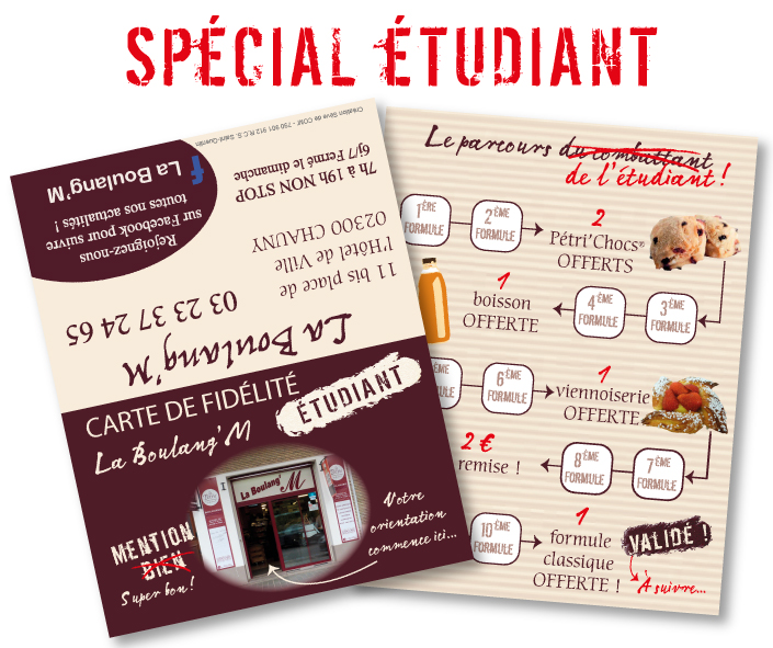 Carte étudiants